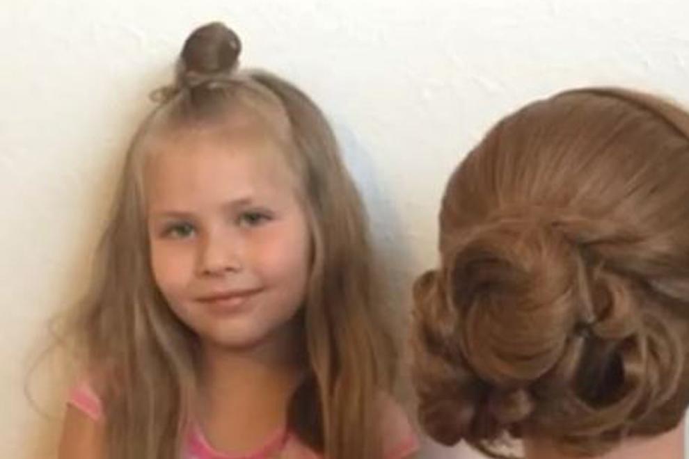 Diese Fünfjährige zaubert Hochsteckfrisuren wie ein Profi-Stylist