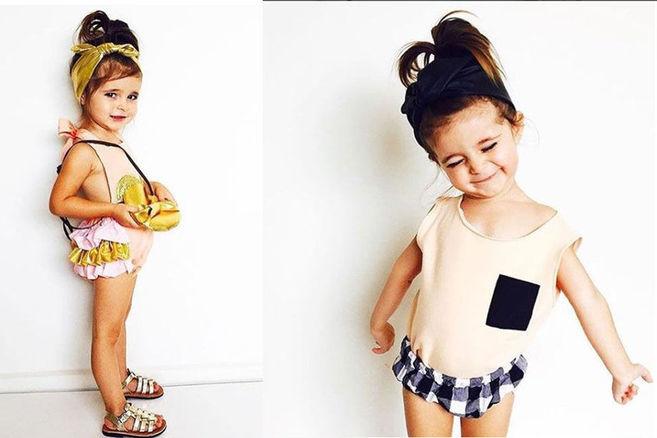 Dieses zweijährige Mädchen ist schon ein Instagram-Star