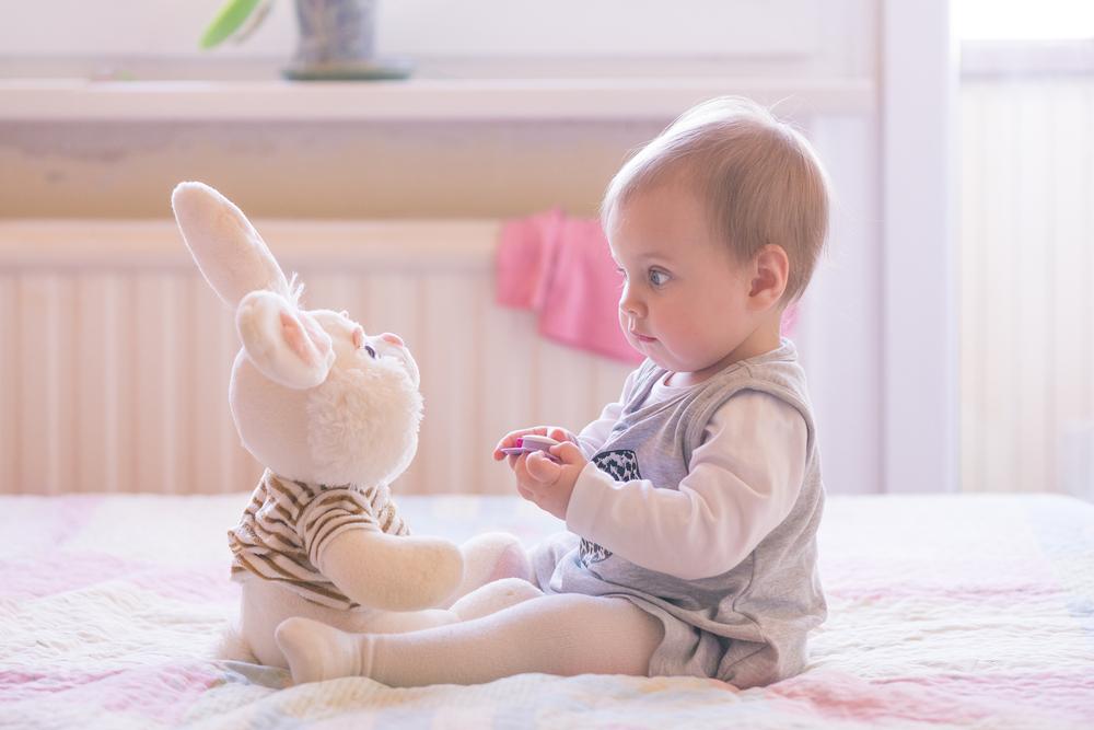 Wann beginnen Babys zu sprechen?