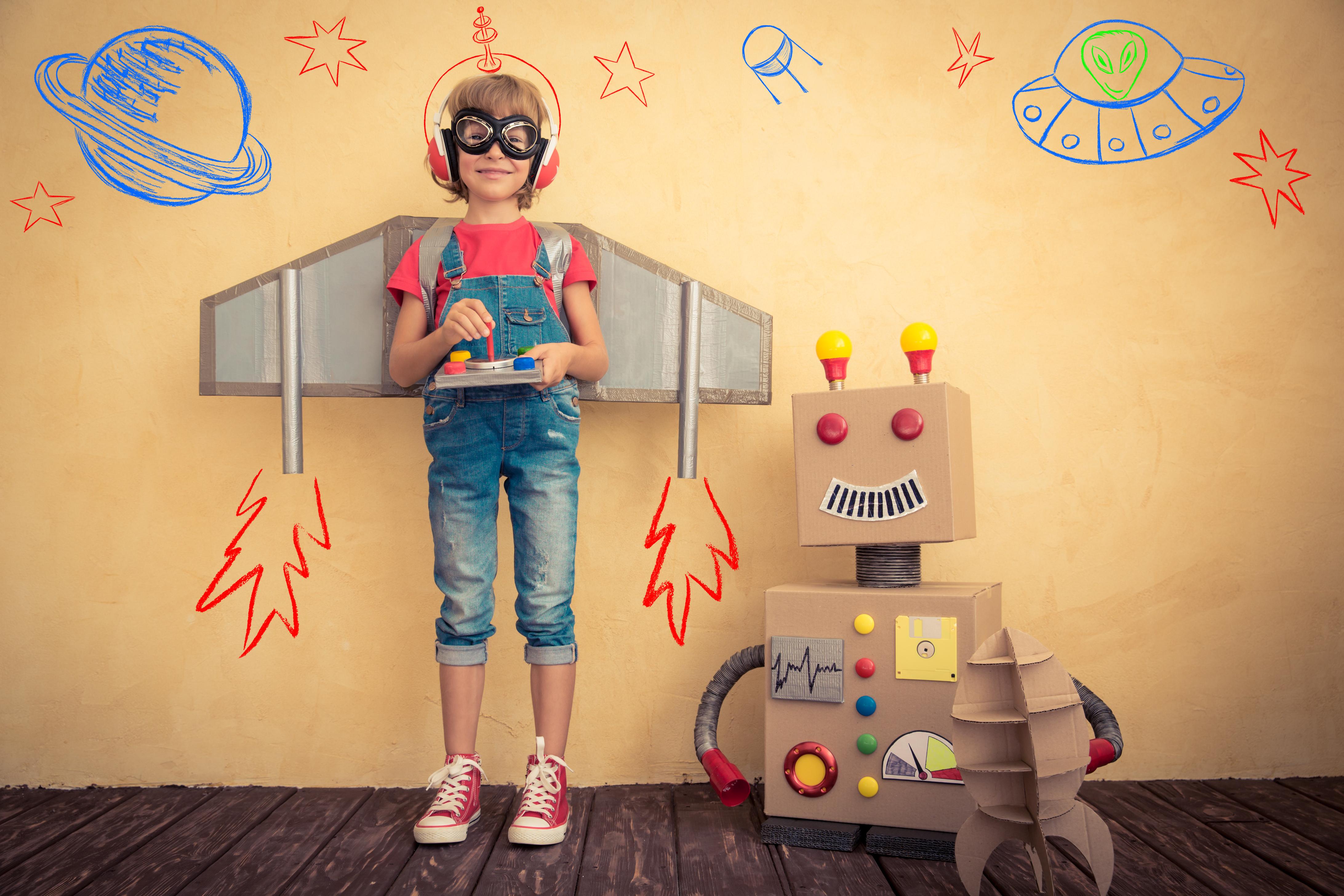 Inspiration: 5 Dinge, die kreative Kinder ausmachen