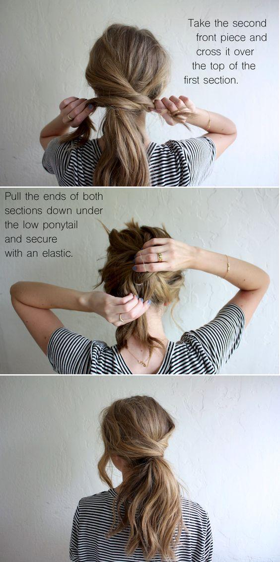 Praktische mama frisuren