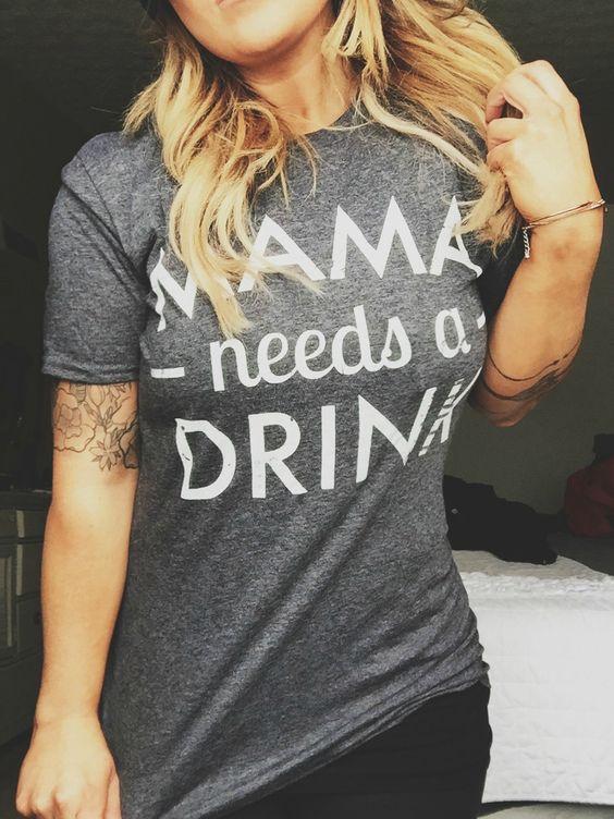Lustige Shirts, die jede Mama braucht