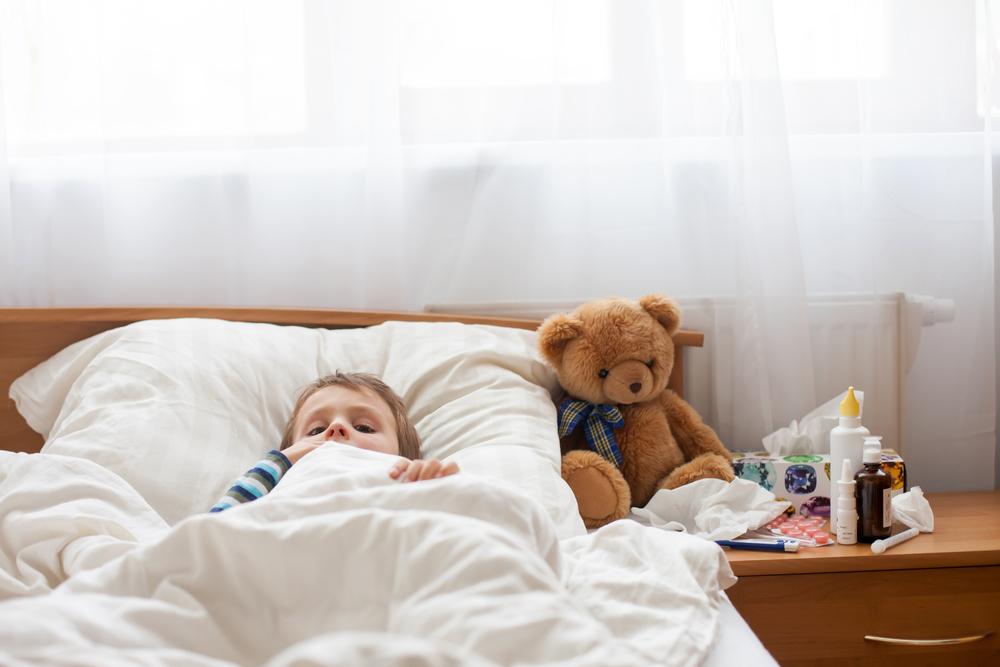 Hausmittel gegen Bauchschmerzen und Erkältung