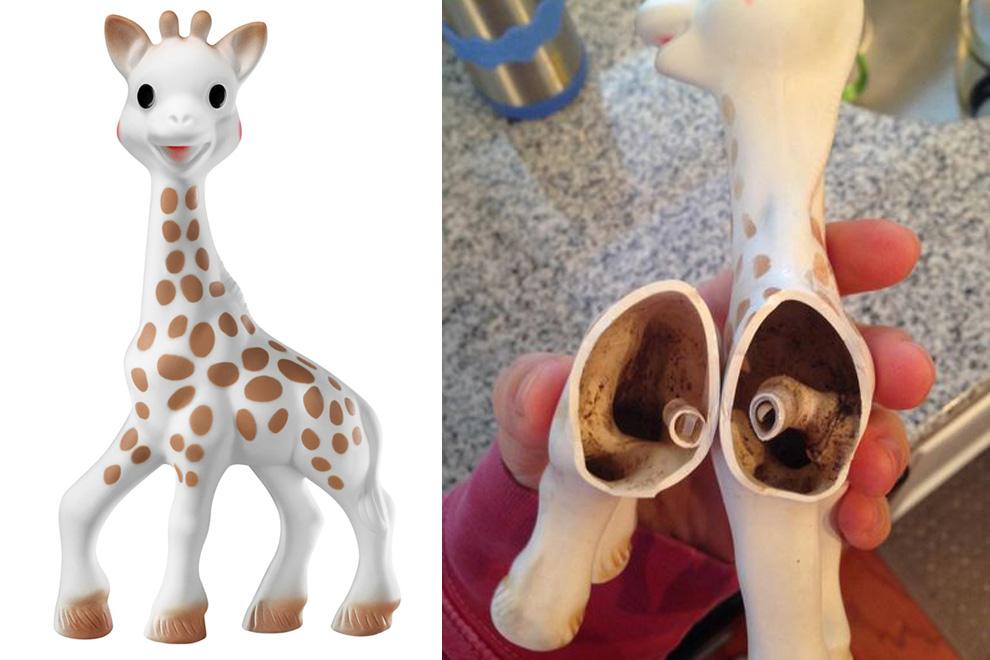 Unfassbar, was eine Mutter im Kinderspielzeug fand!