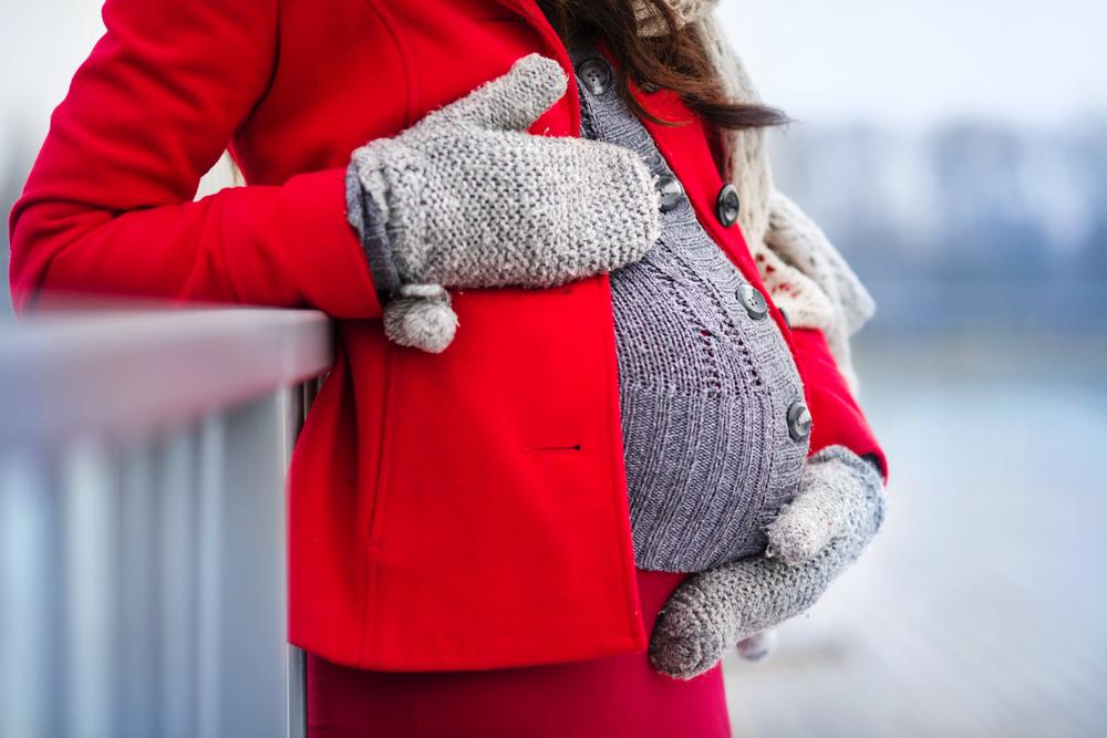 Schöne Outfits für Schwangere im Winter