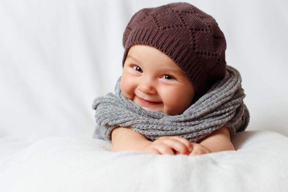 Brrrr: 10 übercute Halstücher für Babies und Kinder