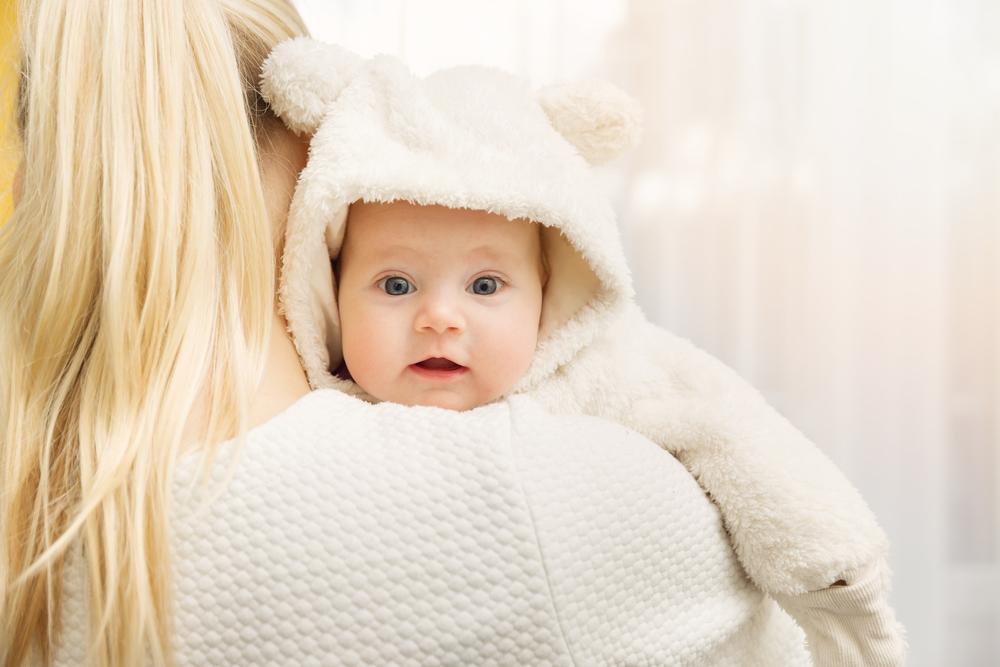 Babys erstes Schluckauf