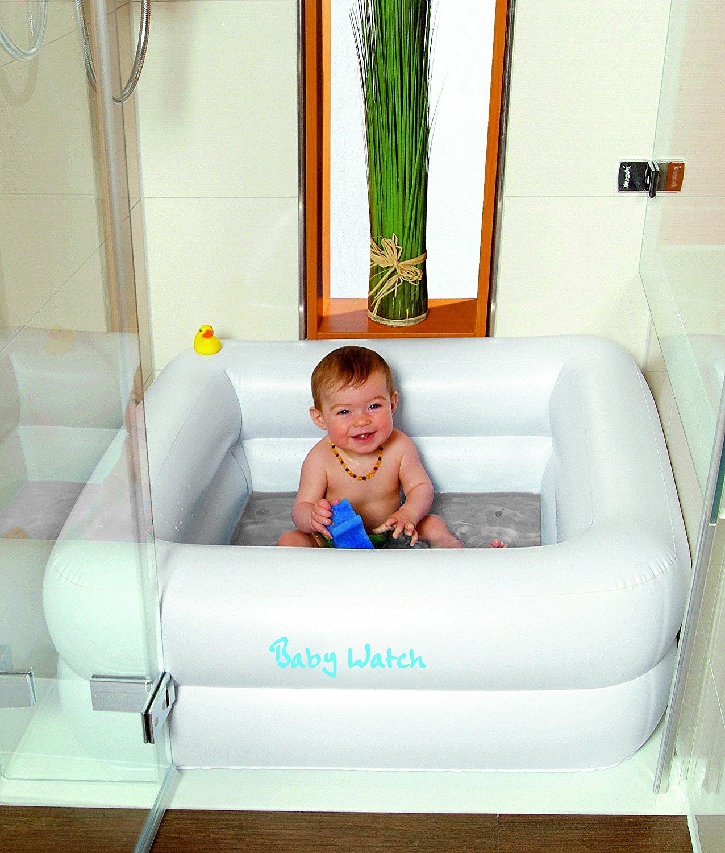 geniale erfindung dieses ding macht duschen mit baby so viel einfacher. Black Bedroom Furniture Sets. Home Design Ideas