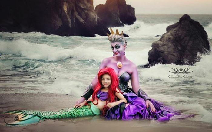 Die schönsten Disney Filme nachgestellt von Mutter und Tochter