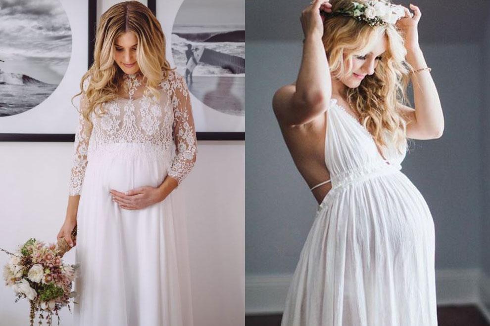 """Atemberaubend: Diese schwangeren Bräute machen uns Lust immer wieder """"JA"""" zu sagen"""