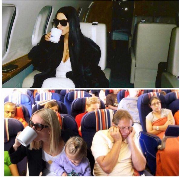 Diese Mama stellt Celebrity-Fotos nach – und das Ergebnis ist zum Brüllen komisch