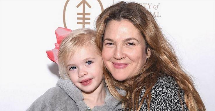 "Drew Barrymore´s Tochter sieht genauso aus wie ihre Mutter in ""E.T."""