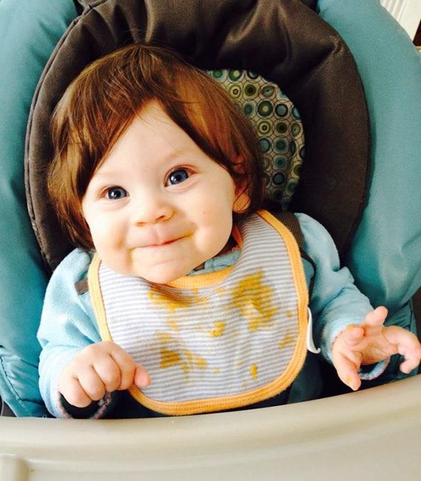 16 Susse Babies Mit Aussergewohnlichen Frisuren