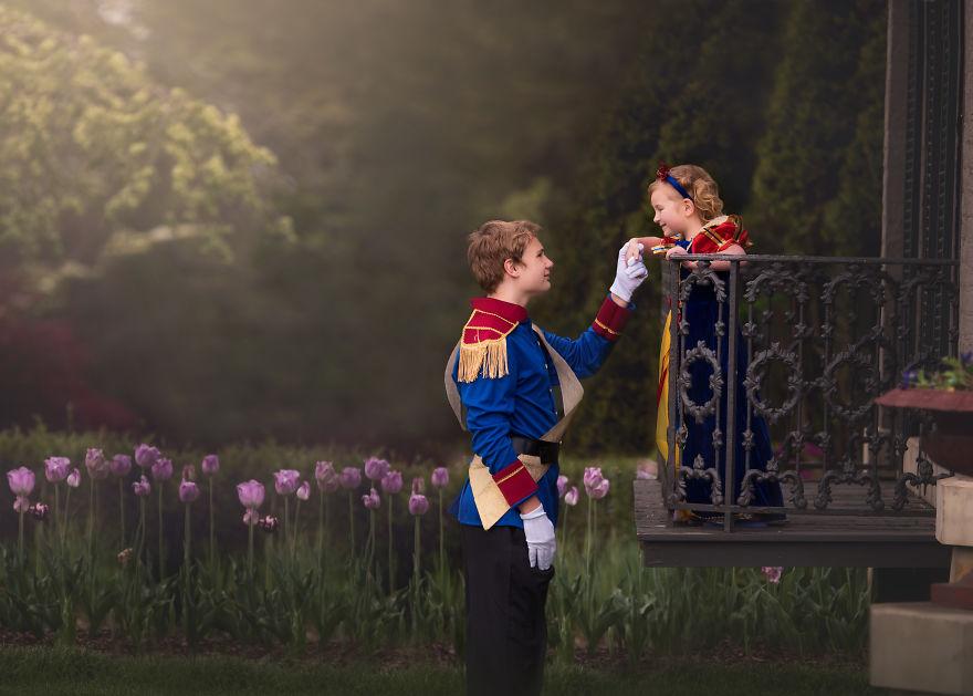 Dieser Bruder überrascht seine kleine Schwester mit einem Disney Shooting
