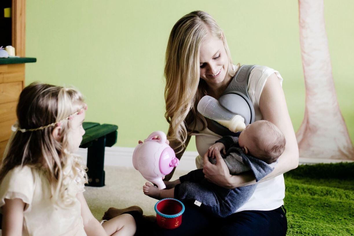 Kreativ: Die Still-Hilfe für Mamas die eine dritte Hand brauchen