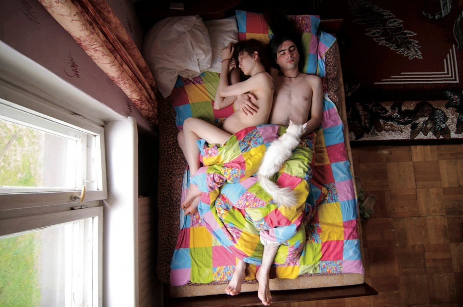 Unglaublich Intim: 20 wunderschöne Fotos von werdenden Eltern im Schlaf