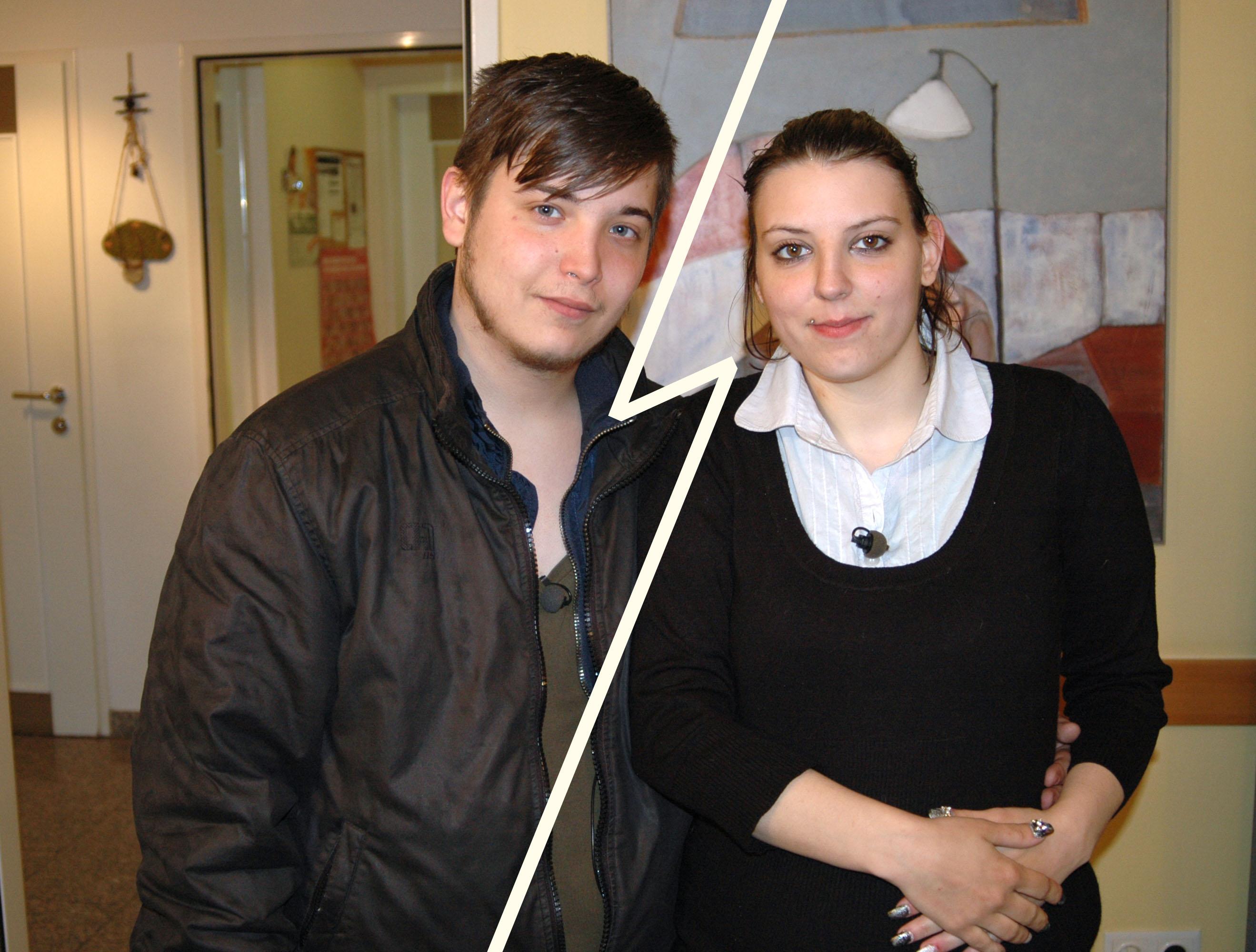 Kerstin und Marcel präsentieren ihre neuen Partner