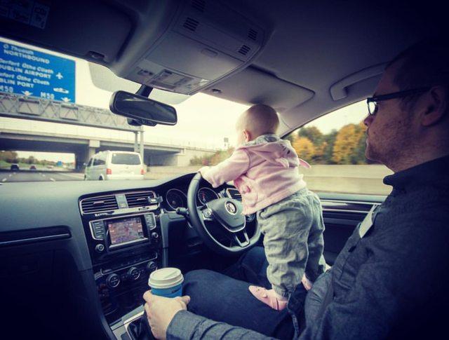 Shitstorm-Gefahr nachdem Vater Fotos seiner Tochter veröffentlicht