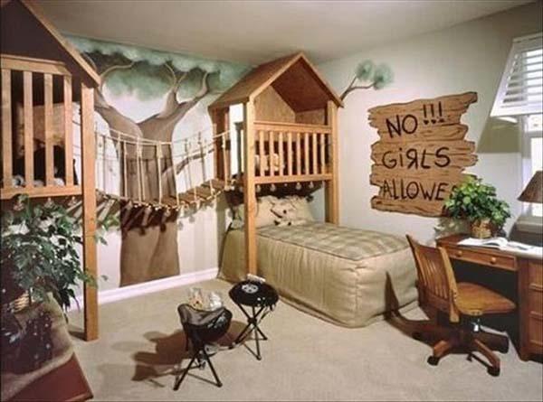 Kinderzimmerideen für kreative Köpfe