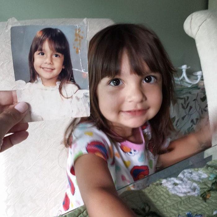 Wenn unsere Kinder aussehen wie unsere Zwillingsgeschwister