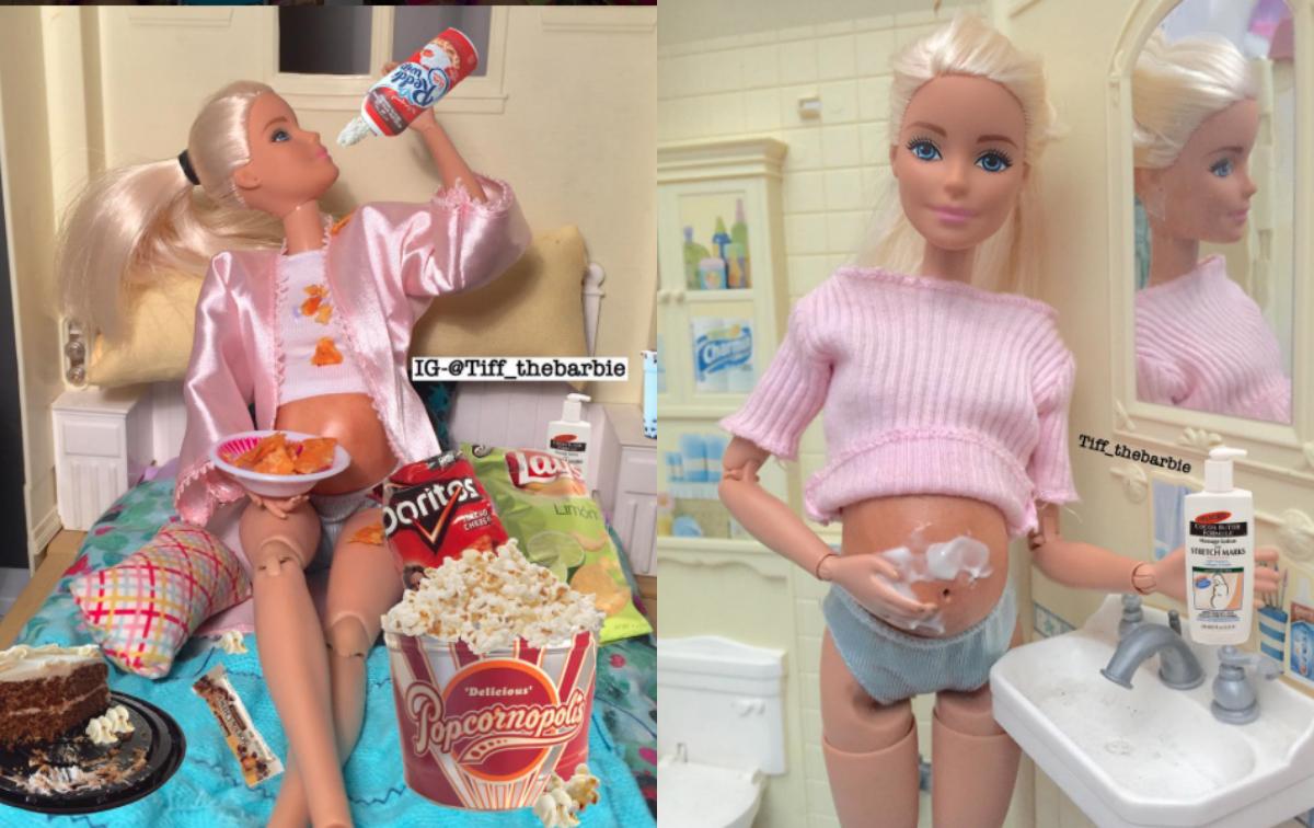 Instagram-Account mit schwangerer Barbie erobert das Netz