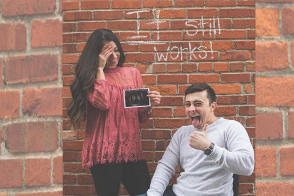Es geht noch immer!: Warum diese Schwangerschaftsankündigung etwas Besonderes ist