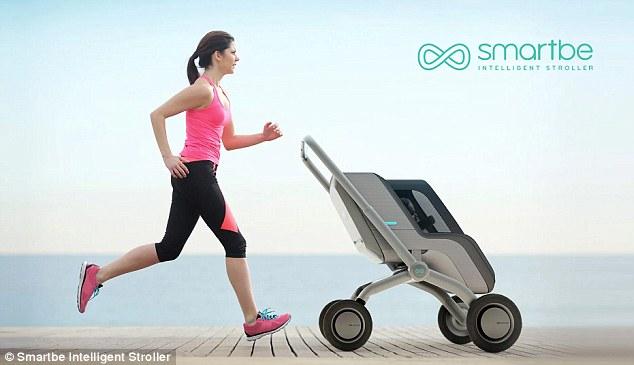 Es gibt endlich einen selbstfahrenden Kinderwagen