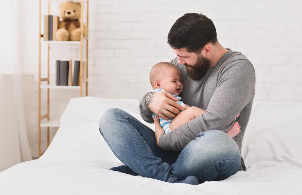 Eine Frage rührt 10 Väter zu Tränen