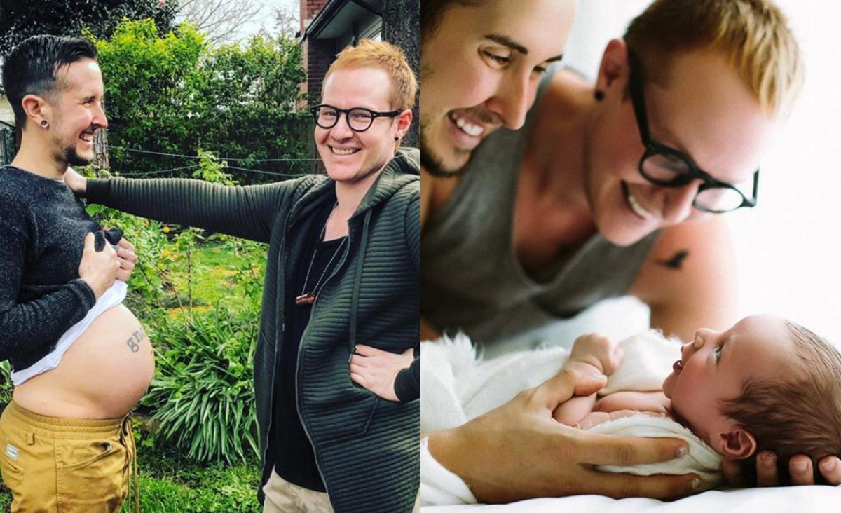 Dieser Transgender-Mann hat kürzlich einen Sohn geboren