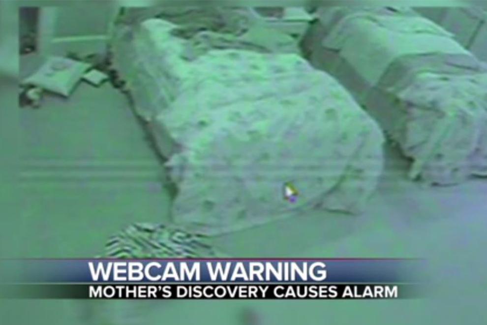 Vorsicht: Die Nanny Cam wurde gehackt und ins Internet gestreamt!