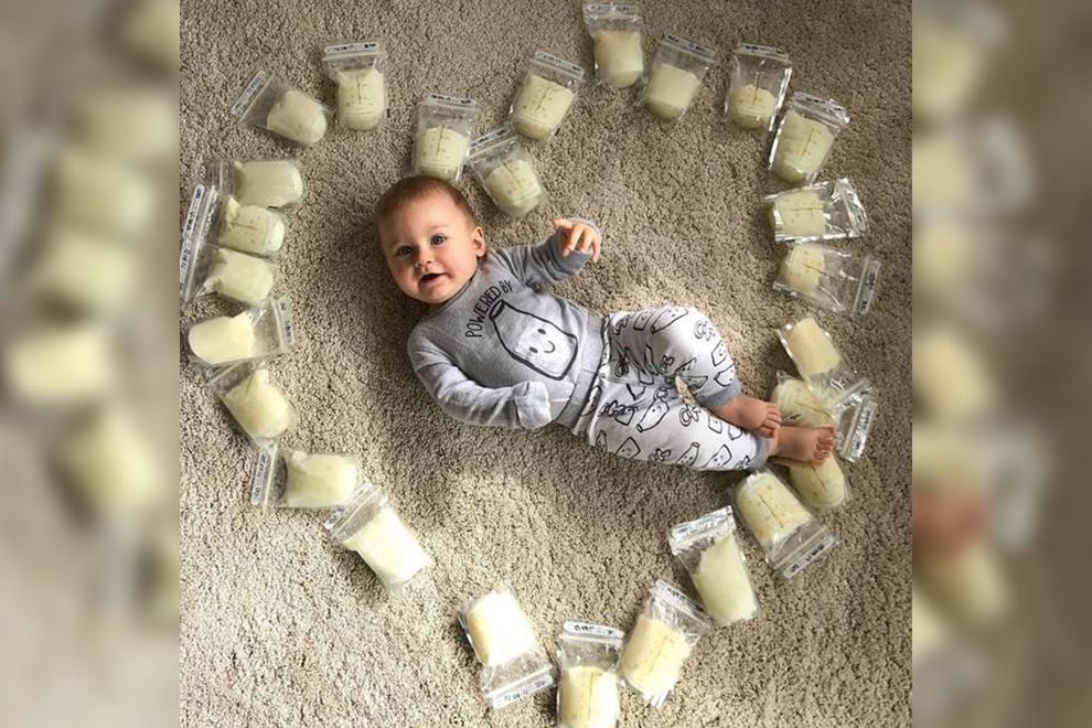 4 Liter Milch eine fremden Mutter retten Baby das Leben