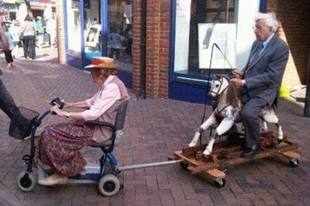 Die Liebe und das Alter…