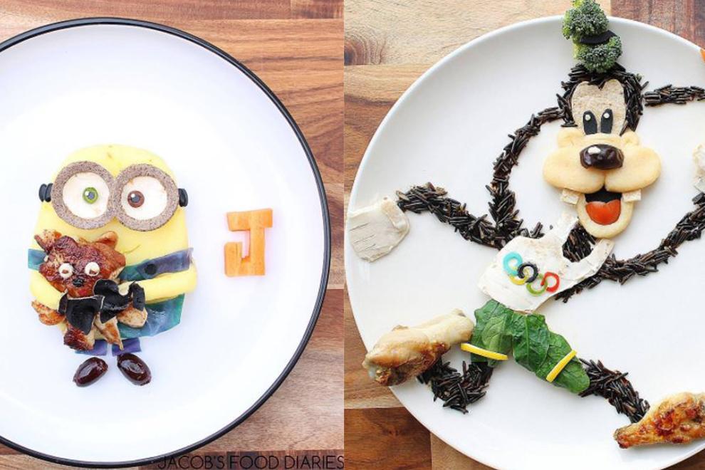 WOW: Diese Kindermahlzeiten sind wirkliche Kunstwerke