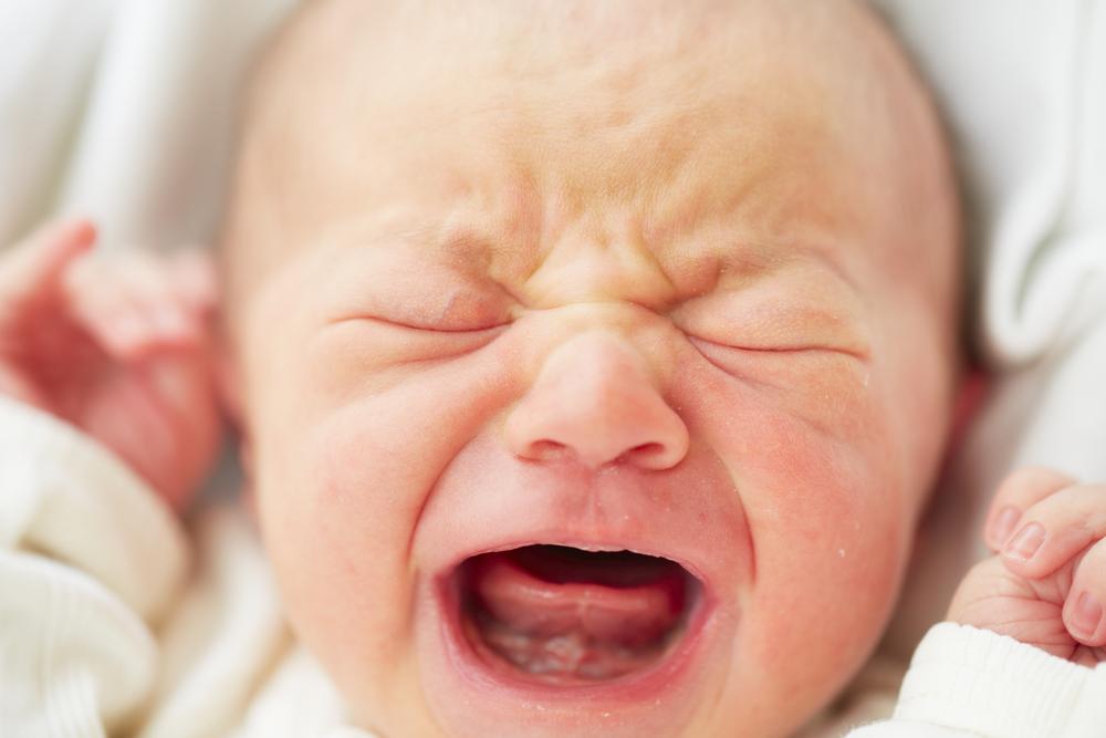 Belastung: Ist mein Kind ein Schreibaby?