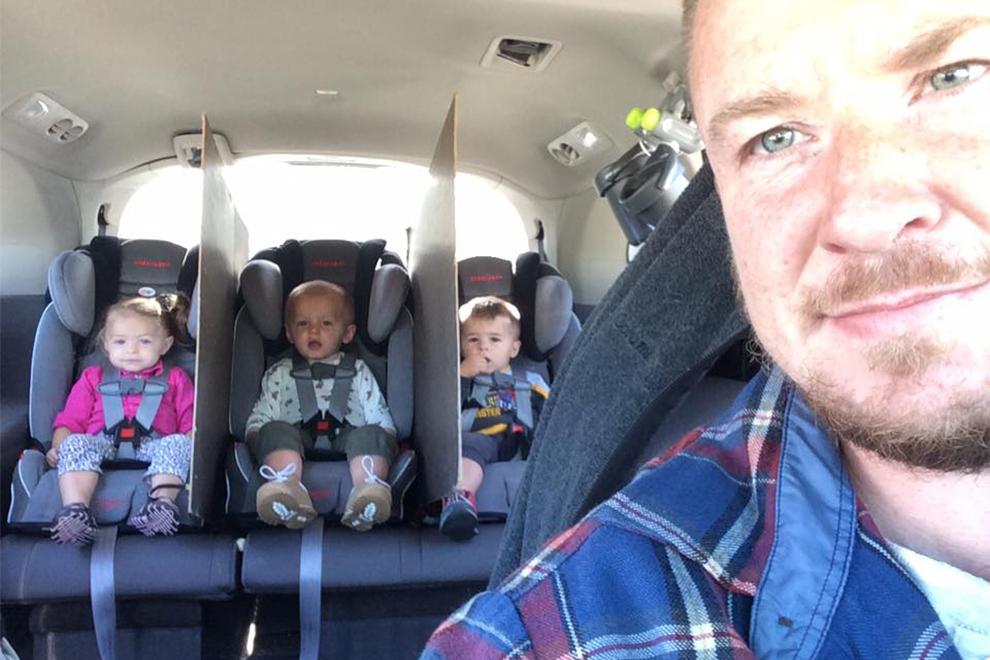 Zoff im Auto? Dieser Papa ist genial!