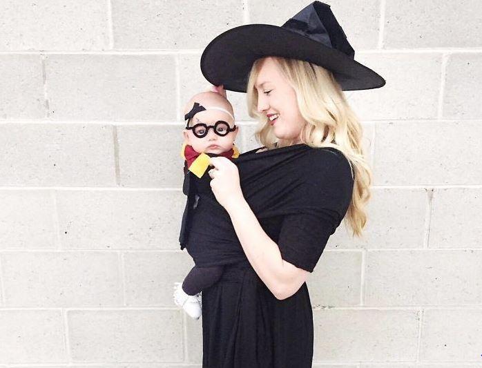 Witzige Eltern-Kind-Kostüme für Halloween