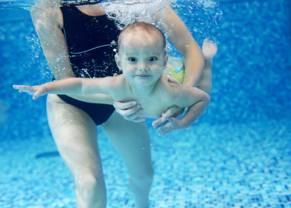 Tauchen beim Babyschwimmen – ja, nein, vielleicht?