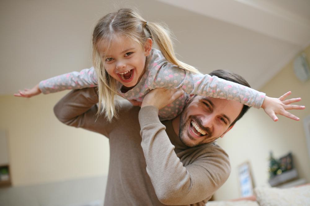Papas werden für Dinge gefeiert, die für Mamas ganz normal sind…
