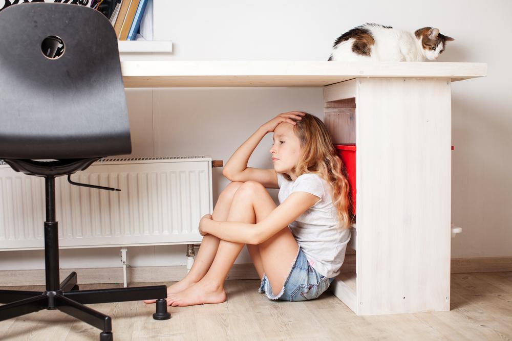 Wie du herausfindest, was deinem Kind Sorgen bereitet