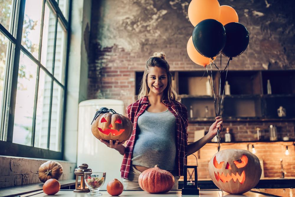 Die lustigsten Halloween-Verkleidungen für Schwangere