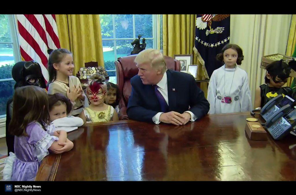 """Trump zu Kind: """"Zumindest hast du kein Gewichtsproblem"""""""