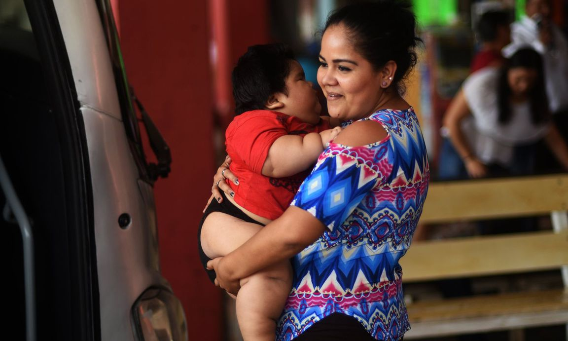 Krass!: Dieses Baby wiegt 28 (!) Kilo
