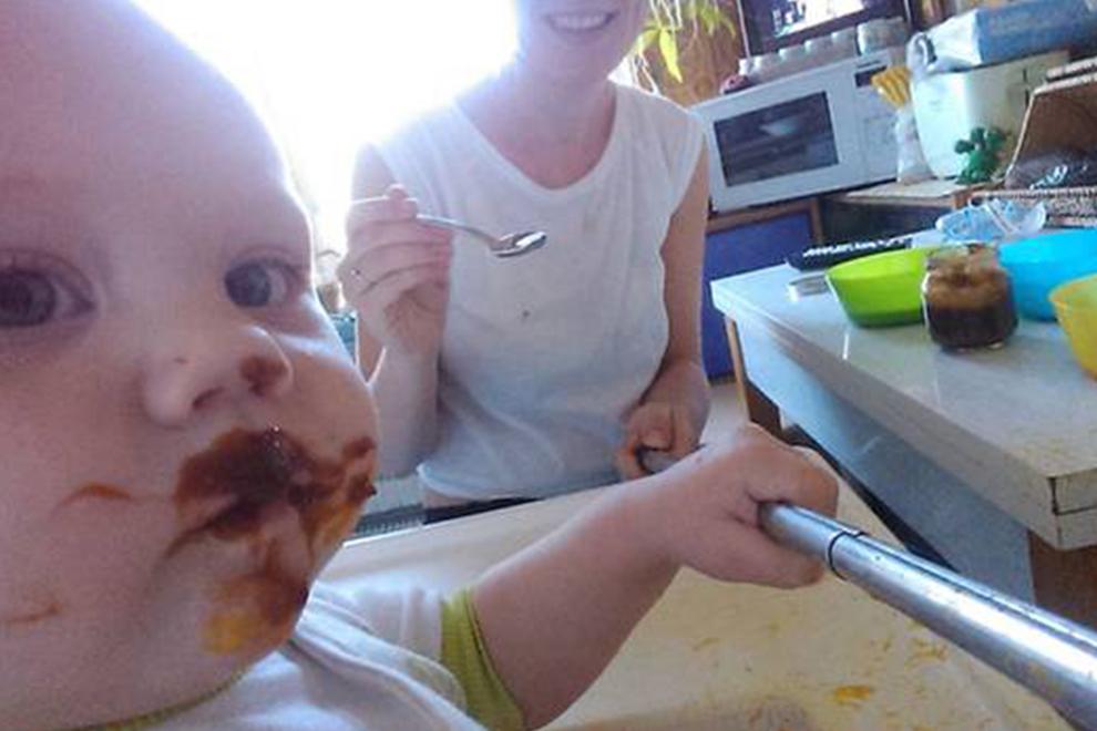 So cute: Wenn Mama & Baby Selfies machen