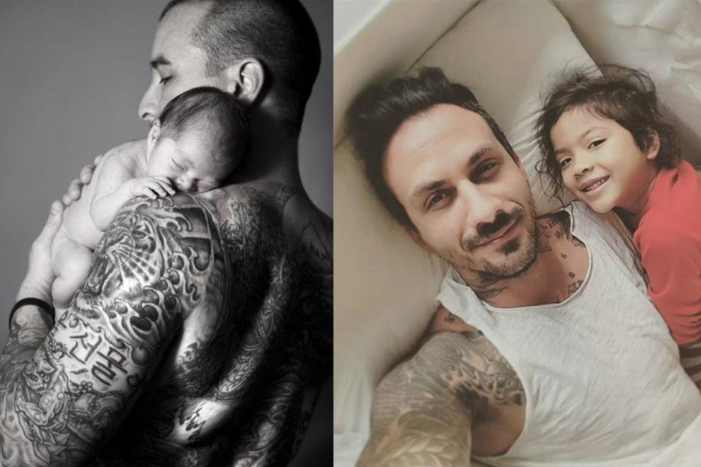 Hot: Diese Papas zeigen ihre Tattoos