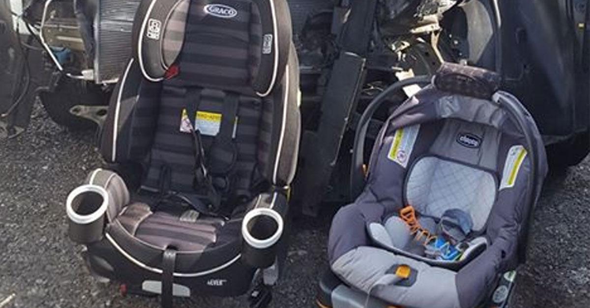 Schock: Dieser Post zeigt, wie ein Sitz das Leben deines Kindes retten kann