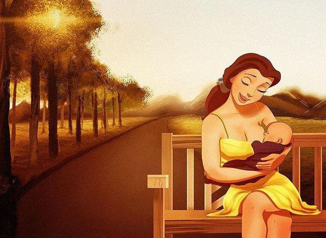 Disney-Prinzessinnen nach dem Kinderglück