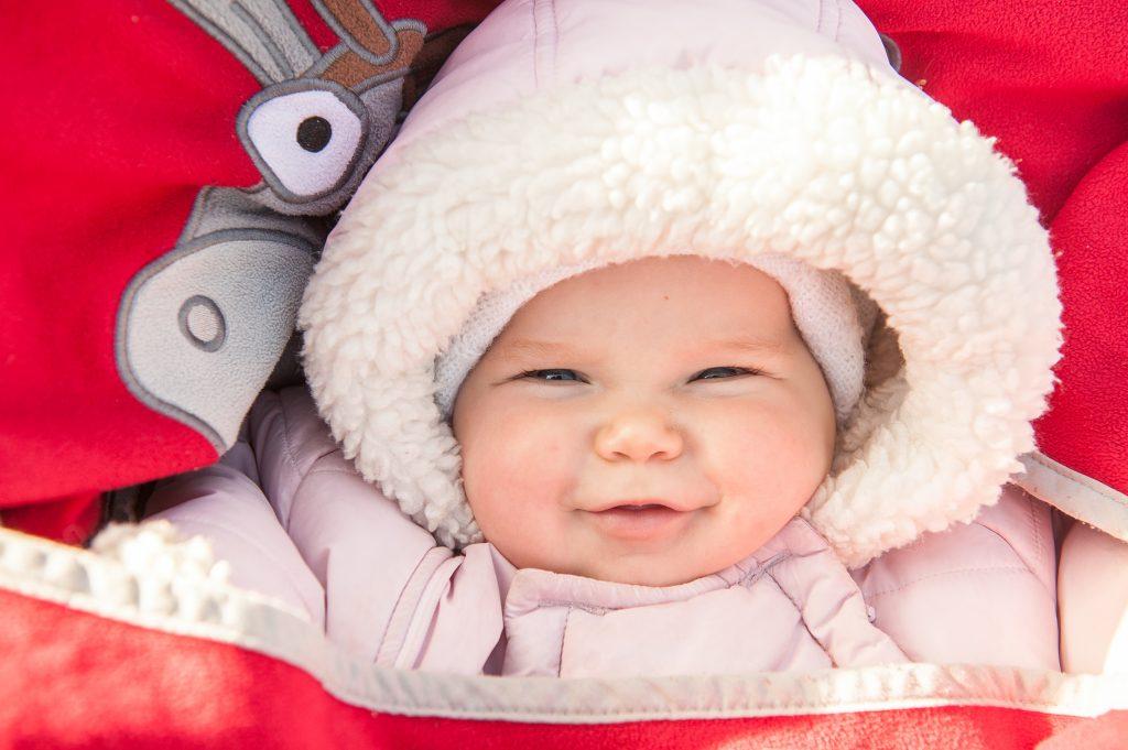 Können Babys im Schneeanzug überhitzen?