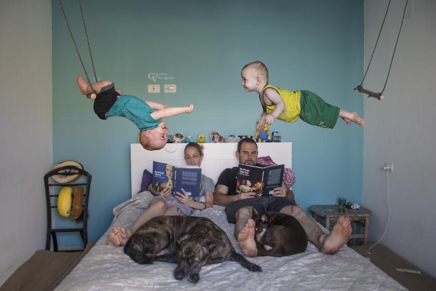 Wenn der Vater Fotograf ist…