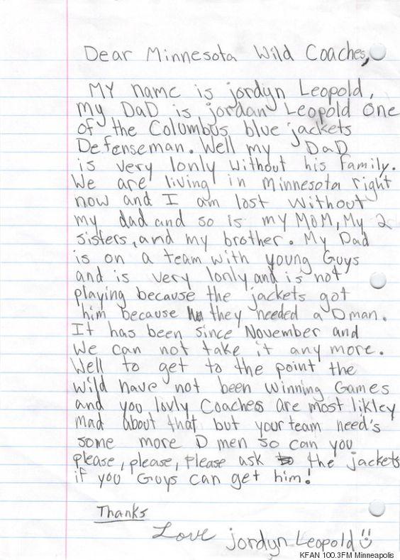 11-Jährige schreibt rührenden Brief, damit ihr Vater einen Job in der Nähe bekommt