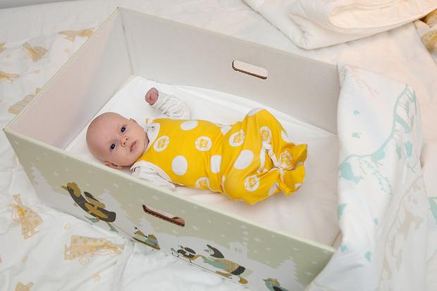 Kurios: Weshalb finnische Babys in Kartons schlafen